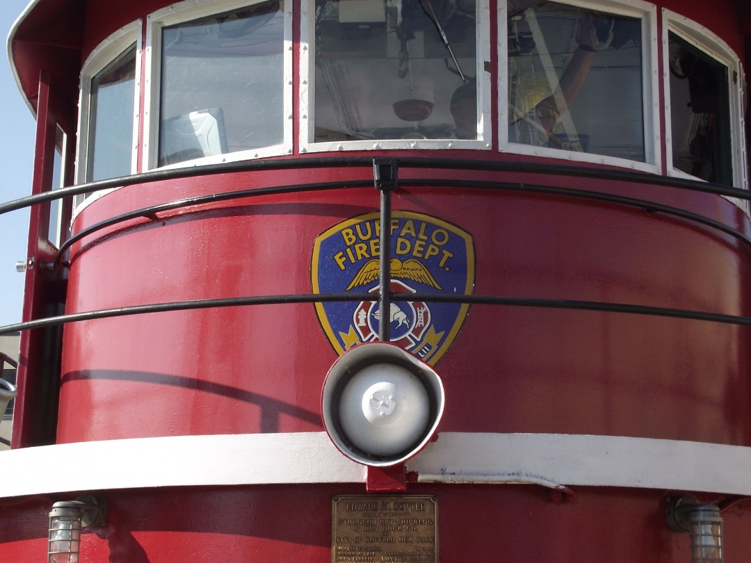 Ride On The E.M. Cotter Fire Boat