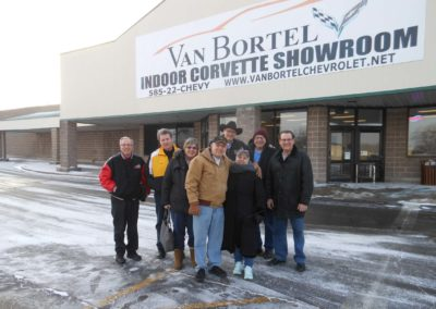 February 2018 Cruise to VanBortel Indoor Corvette Showroom