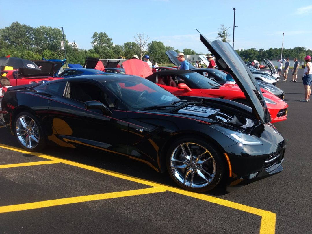 COB Vettes for Vets at Russell's 2019