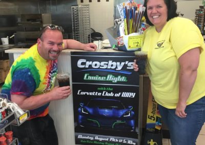 Crosby's Corvette Cruise–August 19