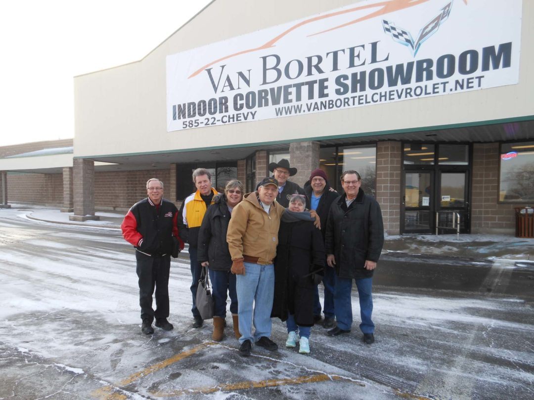 February 2018 Cruise to VanBortel Indoor Corvette Showroom