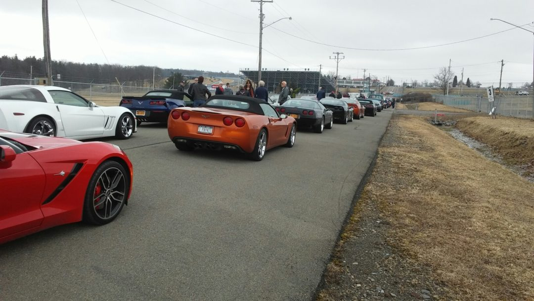 All Corvette Glens Falls NASCAR Run/VanBortel Coffee and Cars