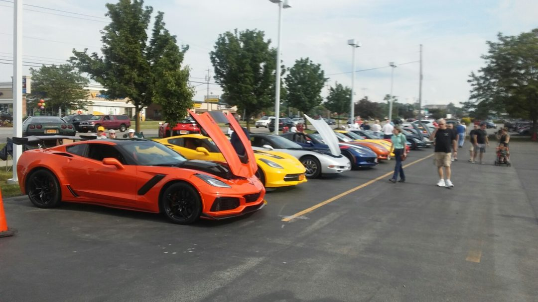 Annual WNYCC All Corvette Show, Sponsored by WestHerr