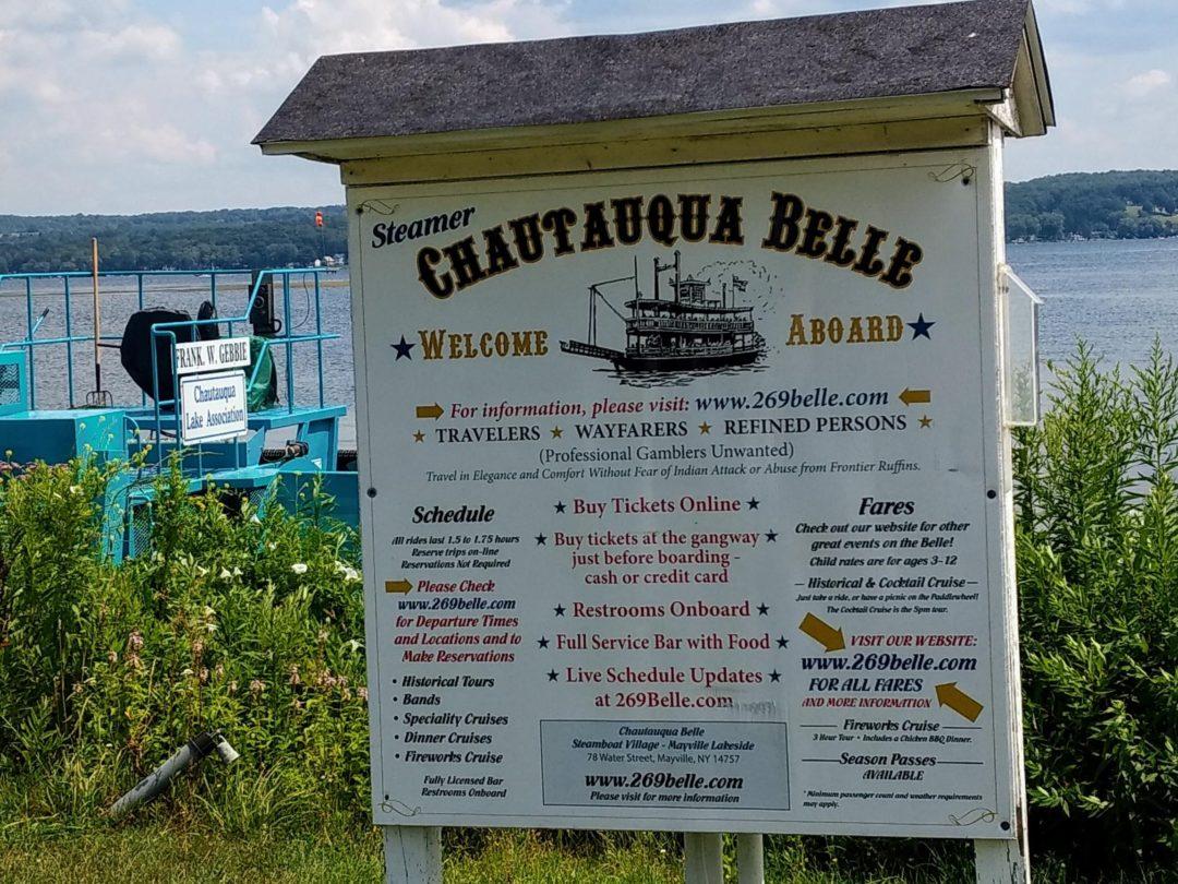 Chautauqua Belle Cruise