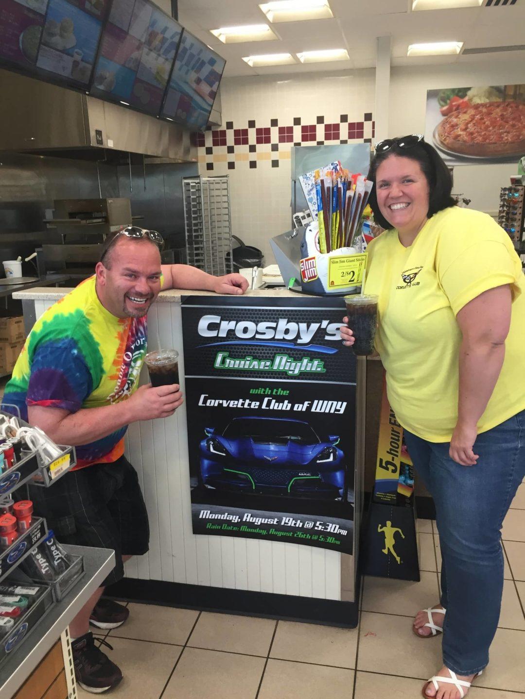 Crosby's Corvette Cruise–August 19