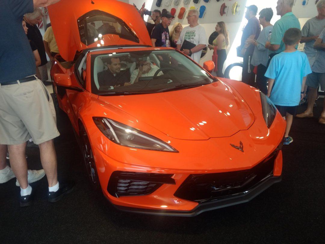 2020 Corvette C8 at VanBortel's