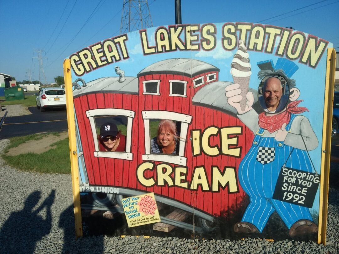 Great Lakes Station Ice Cream Cruise